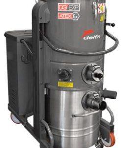 Máy hút bụi công nghiệp 3 pha 5.5Kw Delfin DG70